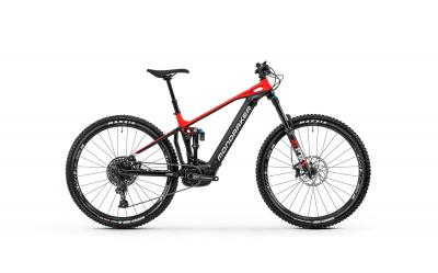 Mondraker CRAFTY R Black - Flame Red - White 2020 - 29 -