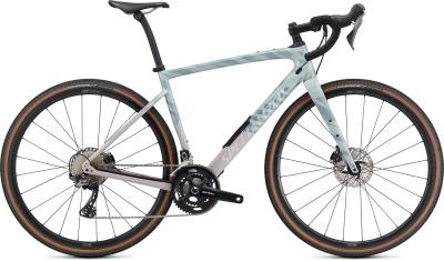 Specialized Diverge Comp Carbon Gloss Ice Blue / Clay / Cast Umber / Chrome / Wild 2021 - 28