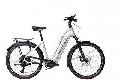Corratec Life CX6 12S Connect Silber/Rot 2021 - 27,5