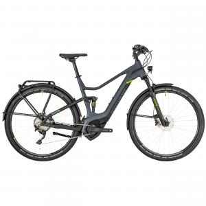 Bergamont E-Helix FS Expert EQ dark grey/black/lime (matt) 2019 - Gent 28 -