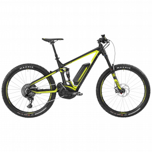 Bergamont E-Trailster 9.0 black/neon yellow (matt/shiny) 2017 - Gent -