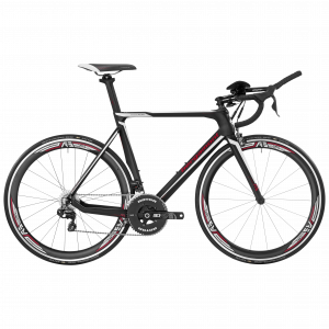 Bergamont Prime RS TRI black/white/red (matt/shiny) 2017 - Gent -