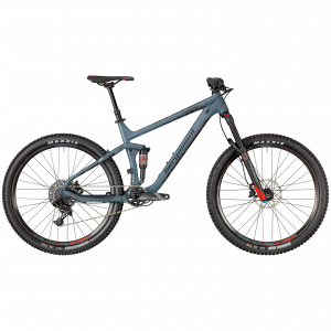 Bergamont Trailster 7.0 - 27.5 -  steelblue/black/red (matt/shiny) 2018