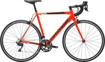 Cannondale CAAD Optimo 105 ARD Acid Red w/ Jet Black and Sage Gray - Gloss