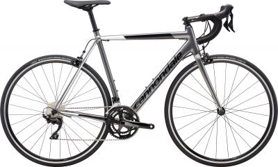 Cannondale CAAD Optimo 105 GRY Charcoal Gray w/Black Pearl and Cashmere - Gloss