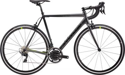 Cannondale CAAD12 D/A CNP Stealth Gray w/ Black Pearl and Acid Green - Matte