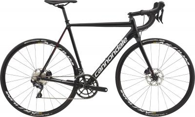 Cannondale CAAD12 Disc Ultegra BLK Jet Black w/ Cashmere, Acid Red and Fine Silver -  2018 - 28 -