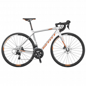 Scott Contessa Solace 25 disc weiß/grau/orange 2017