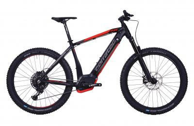 Corratec E-Power X Vert Factory 650B+ Schwarz matt/Hell Rot glanz/Steel Grau
