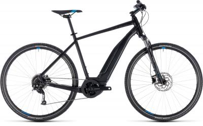 Cube Cross Hybrid ONE 500 black´n´blue 2018 - Men 28 -