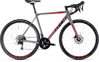 Cube Cross Race Pro grey´n´red 2018 - 28 -