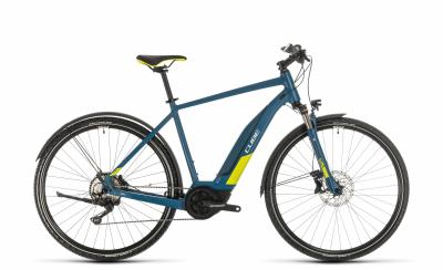 Cube Nature Hybrid EXC 500 Allroad ´n´lime - Men -  blue´n´lime 2020