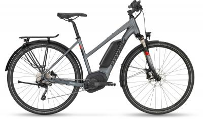Stevens E-6X Tour Foggy Grey 2019 - Lady 500Wh -