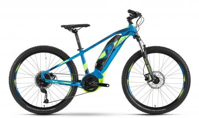 Raymon E-Sixray 4.0 - MTB Hardtail 26 -  blue/green/black 2019