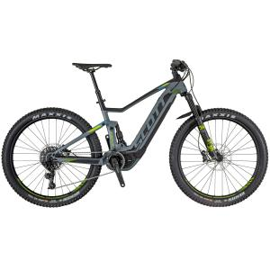 Scott E-Spark 720 GREY / BLACK / GREEN 2018 - 27.5 -