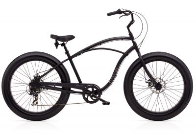 Electra Cruiser Lux Fat Tire 7D Step-Over Black Satin 2020 - 26 -