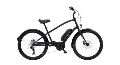 Electra Townie Go! 8D Step-Over - 26 MEN'S -  MATTE BLACK 2019