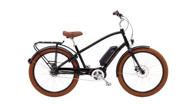 Electra Townie Go! 8i Step-Over - 26 MEN'S -  Black 2019