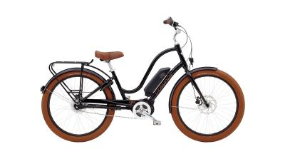 Electra Townie Go! 8i Step-Thru - 26 LADIES' -  Black 2019