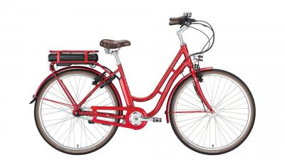 Excelsior Swan Retro E ruby red 2020 - 7Gg 340Wh 28 Wave -