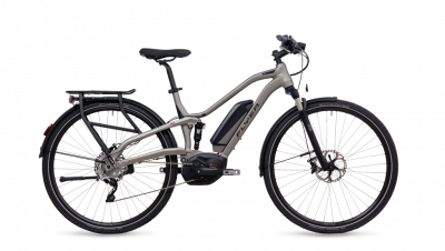 Flyer TX 7.70 FS Silber - Full Suspension -  Tritonsilber matt 2018