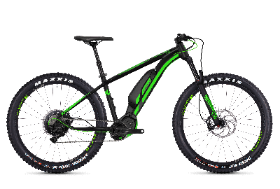 GHOST Hybride Kato S6.7+ AL Night black NEONGREEN - 2018 - Uni 27.5 -