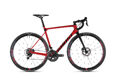 GHOST Nivolet X7.8 LC Riot red NIGHTBLACK - 2018 - Uni 28 -