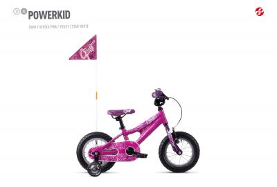 GHOST POWERKID AL 12 K - 12 -  dark fuchsia pink / violet / star white 2019
