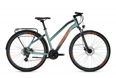 GHOST Square Trekking 2.8 AL W - 28 -  river blue / jet black / monarch orange 2019