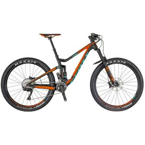 Scott Genius 730 BLACK / ORANGE / TURQUOISE 2018 - 27.5 -