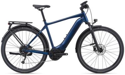 Giant EXPLORE E+ 2 GTS Metallic Navy / Black Satin Gloss  2021 - 500Wh 28