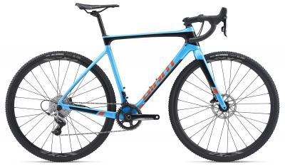 Giant TCX Advanced Pro 2 Olympicblue / Solidblack / Orange 2020