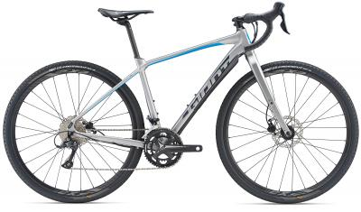 Giant ToughRoad SLR GX 2 BrushAluminium-Blue-Grey Matt 2019