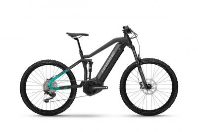 Haibike AllMtn 1.0 Anthracite / Turqoise  2021 - 630Wh 29