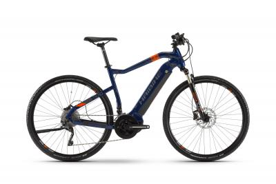 Haibike SDURO Cross 5.0 Blau/Orange/Titan