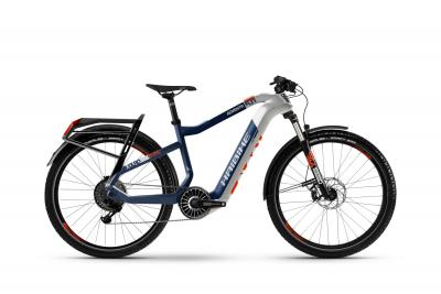 Haibike XDURO Adventr 5.0 Weiß/Blau/Orange