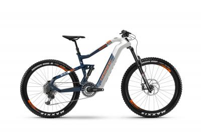 Haibike XDURO AllMtn 5.0 Weiß/Blau/Orange 2020 - MTB Fully -
