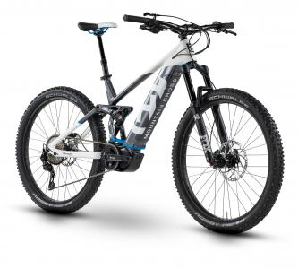 Husqvarna MC 6 weiß/anthrazit metallic/stahlblau 2019 - MTB Full Suspension 27,5 -
