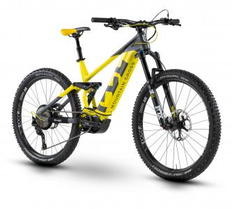 Husqvarna MC 7 anthrazit metallic/neon gelb/tiefschwarz 2019 - MTB Full Suspension 27,5 -