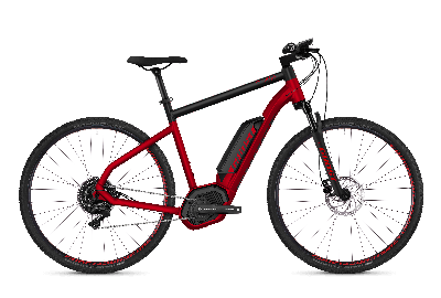 GHOST Hybride SQUARE Cross B4.9 AL Riot red NIGHTBLACK - 2018 - Uni 29 -