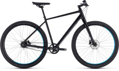 Cube Hyde Pro black´n´blue 2018 - Men 28 -