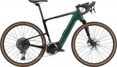 Cannondale Topstone Neo Carbon Lefty 1 Emerald 2021