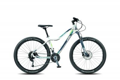 KTM BAGGY SUE 27.27 matt> white (dove green) 2018