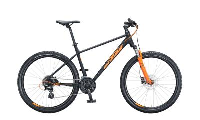 KTM CHICAGO DISC 272 Black Matt ( Orange )  2021 - 27,5