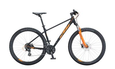 KTM CHICAGO DISC 292 Black Matt ( Orange )  2021 - 29
