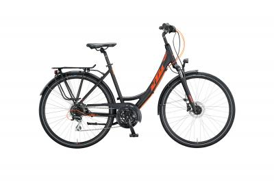 KTM LIFE RIDE black matt (orange glossy)