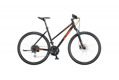KTM LIFE TRACK black matt (orange)