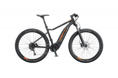 KTM MACINA ACTION 291 black matt (black orange glossy)