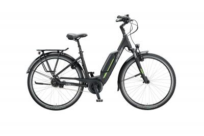 KTM MACINA CENTRAL 5 black matt (grey green)