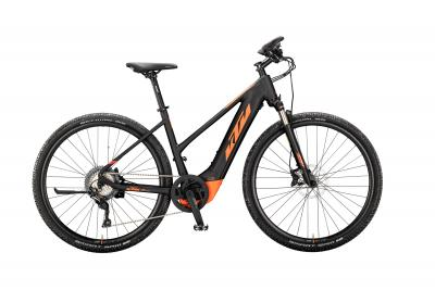 KTM MACINA CROSS 620 black matt (orange)